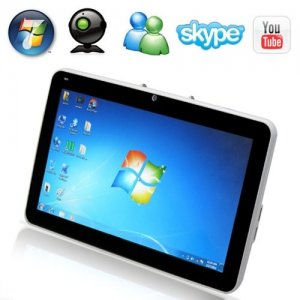 10.1 Inch LCD Touchscreen windows 10 OS Tablet Laptop with 160GB HDD